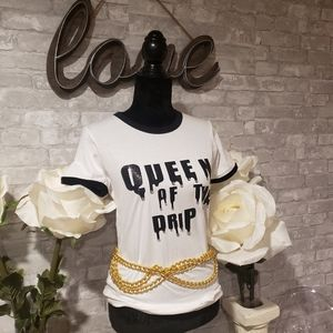 Queen of the Drip Fashion Tee